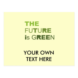THE FUTURE IS GREEN  - POSTCARDS