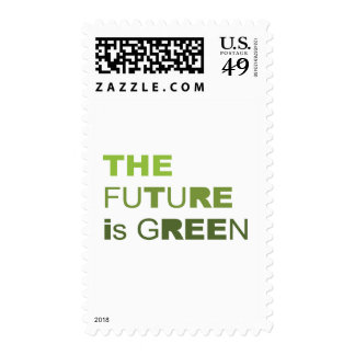 THE FUTURE IS GREEN  - STAMP