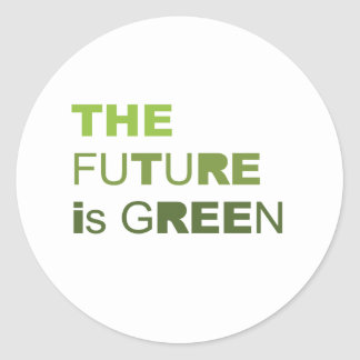 THE FUTURE IS GREEN  - STICKERS