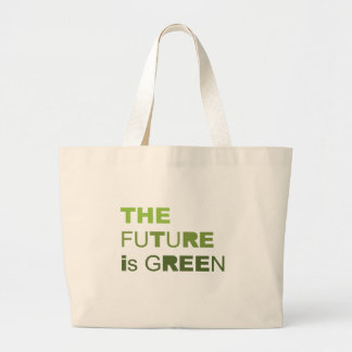 THE FUTURE IS GREEN  - TOTE BAGS