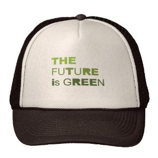 THE FUTURE IS GREEN  - TRUCKER HATS