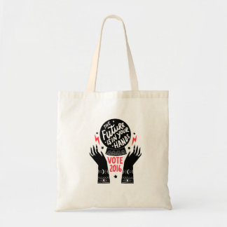 The Future is in Your Hands Tote Bag
