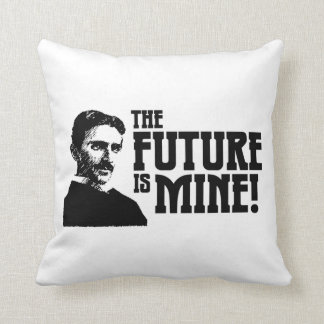The Future is Mine! Throw Pillow