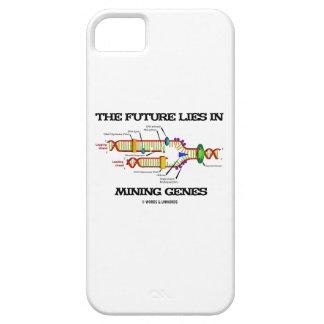 The Future Lies In Mining Genes (DNA Replication) iPhone SE/5/5s Case