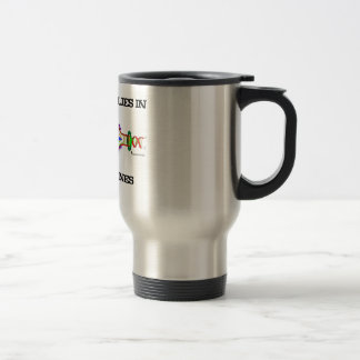 The Future Lies In Mining Genes (DNA Replication) Travel Mug