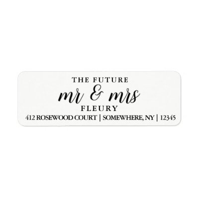 Blissful Branches Wedding Label | Zazzle.com