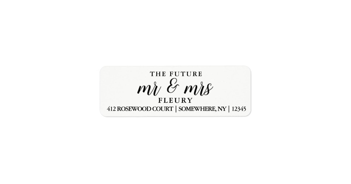 Address Label Couples Address Label Template Address Label
