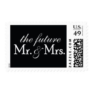The Future Mr. & Mrs. Wedding Postage