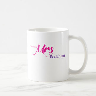 The Future Mrs Beckham Coffee Mug