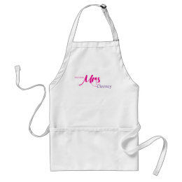 The Future Mrs Clooney Adult Apron
