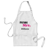 The Future Mrs. Custom Apron