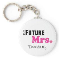 The Future Mrs. Custom Keychain