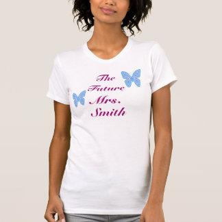 The Future Mrs. Customizable T-shirts
