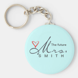 The future Mrs.  - customize your own! Keychain