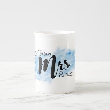 ericksondesigns The Future Mrs. Mug - Blue