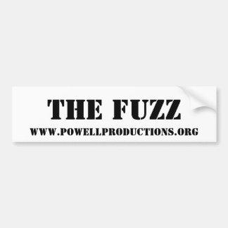 The Fuzz - Bumper Sticker