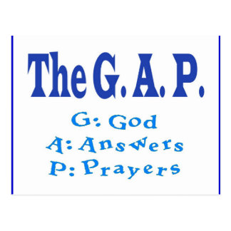 The G. A. P. Collection Postcard