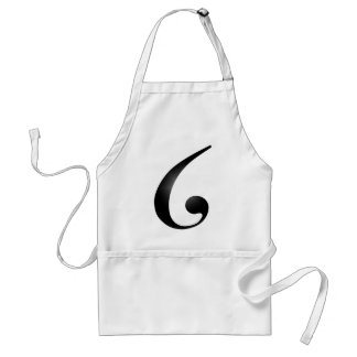 The G American Musical Letter Adult Apron