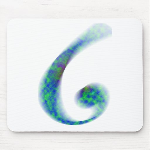 The G American Musical Letter Mouse Pad