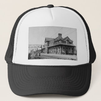 The G.T.R. Railroad Depot - Louis Pesha Trucker Hat