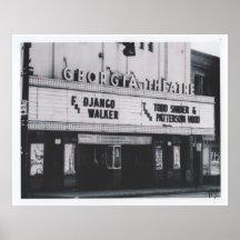 The GA Theatre Poster