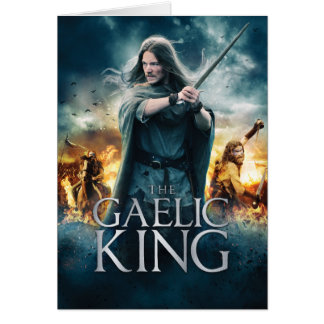 The Gaelic King Note Cards