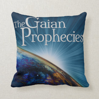 The Gaian Prophecies 16 x 16 Cushion