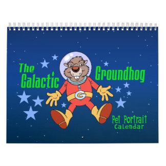 The Galactic Groundhog's Pet Portrait Calendar