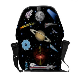 The Galactic Quester Space Messenger Bag