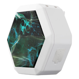 The galaxy in flame white boombot rex bluetooth speaker