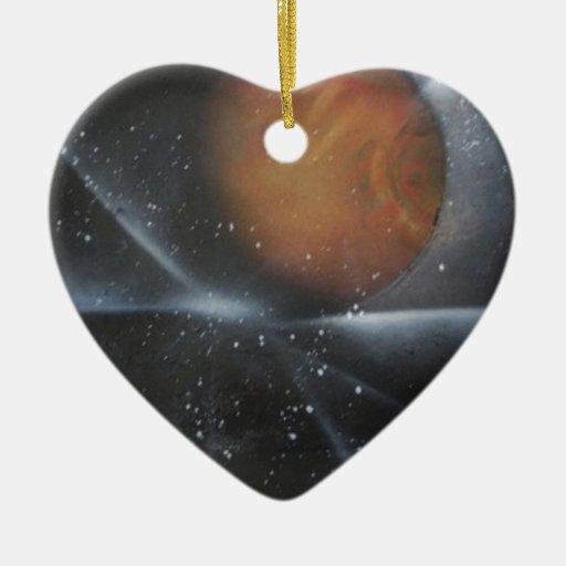 The Galaxy Mars Awaits Christmas Tree Ornaments