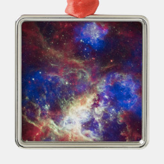 The Galaxy Metal Ornament