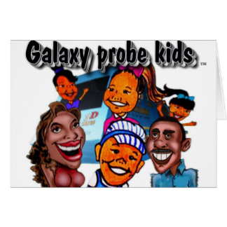 The Galaxy Probe Kids Greeting Cards