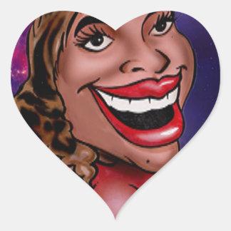 The Galaxy Probe Kids ( Mom Michelle ) Heart Sticker