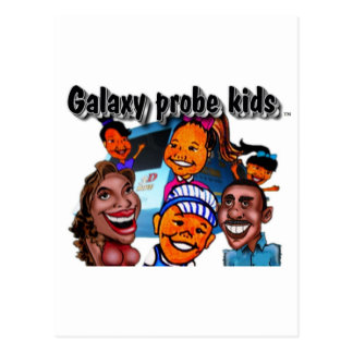 The Galaxy Probe Kids Post Cards