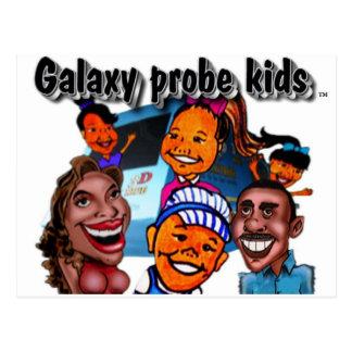 The Galaxy Probe Kids Postcards