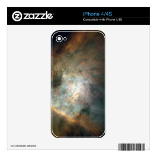 The Galaxy iPhone 4 Decal