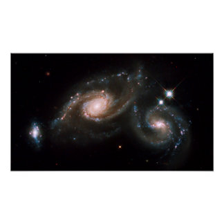 The Galaxy Triplet Print