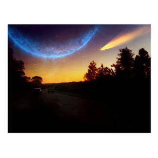 The Galaxy View Postcard