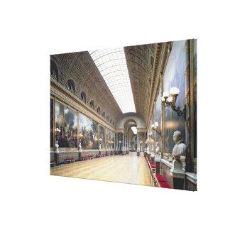 The Galerie des Batailles (Battle Gallery) decorat Canvas Print