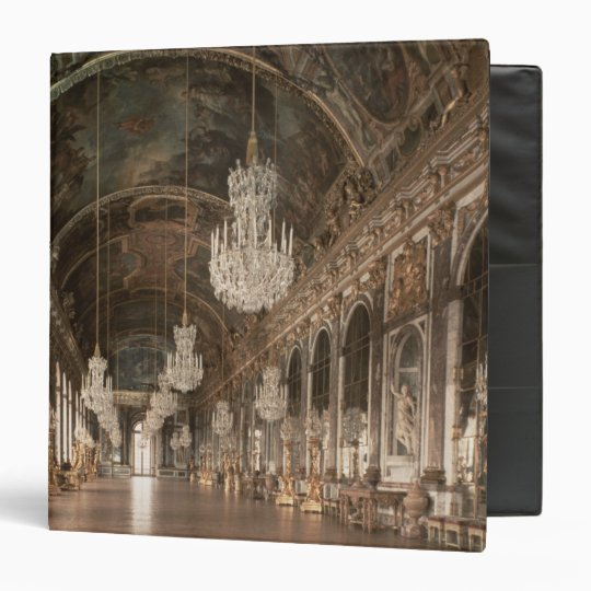 The Galerie des Glaces  1678-84 3 Ring Binder