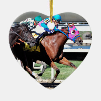 The Gallant Bob Stakes Ceramic Ornament
