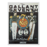 The Gallant Seventh poster