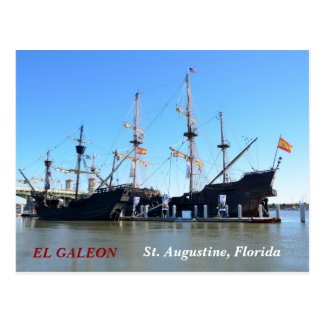 The Galleon Ships Postcard
