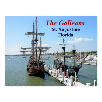 The Galleons Postcard