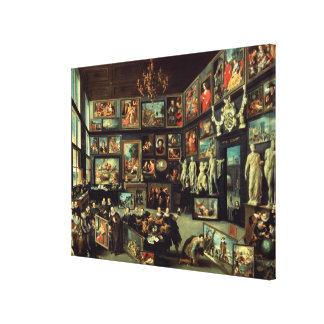 The Gallery of Cornelis van der Geest Canvas Print