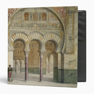 The Gallery of the Court of Lions at the Alhambra, 3 Ring Binders