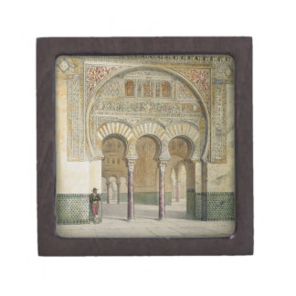 The Gallery of the Court of Lions at the Alhambra, Gift Box