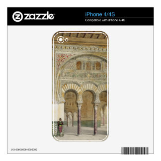 The Gallery of the Court of Lions at the Alhambra, Skin For iPhone 4S