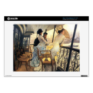 The gallery of the H.M.S. Calcutta by James Tissot Decal For Acer Chromebook